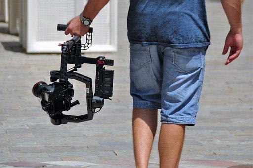Camera, Tripod, Photograph, Lens, Photographer