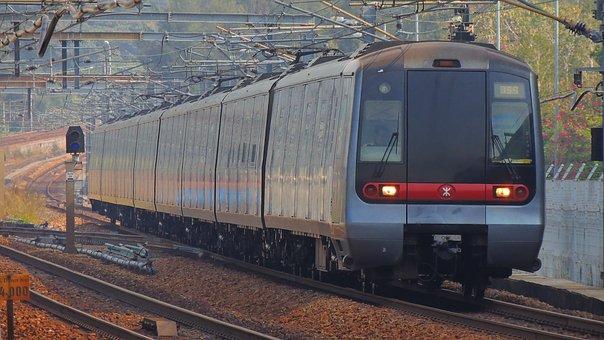 Hongkong, Train, Rail, Railway, City, Transportation