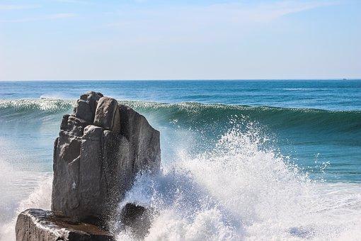 Nature, Mar, Rocks, Texture, Beach, Water, Landscape