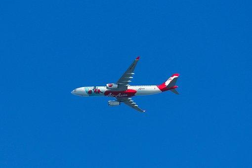 Plane, Sky, Airplane, Fly, Travel, Transportation