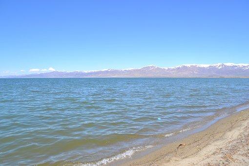 Lake, Mountains, Water, Nature, Landscape, Sky, Armenia