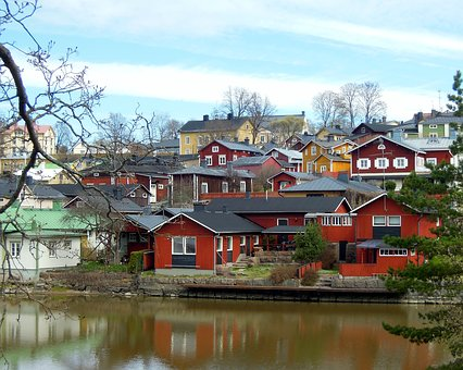 Old Town, Landscape, Houses, At Home, Historical