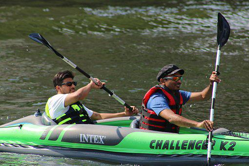 Kayak, Boat, Row
