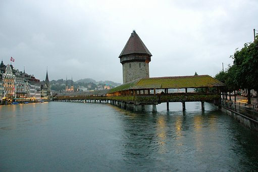 Swiss, Bridge, River