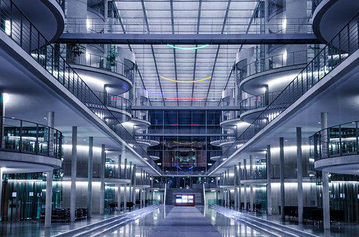 Bundestag, Government District, Architecture, Germany