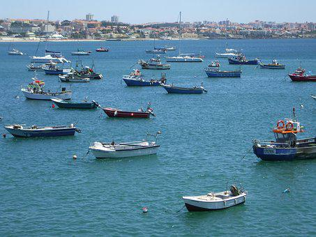 Sea, Boats, Fishermen