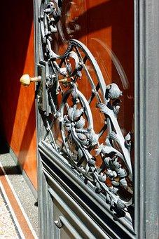 Door, Goal, Blacksmithing, Old Door, Input