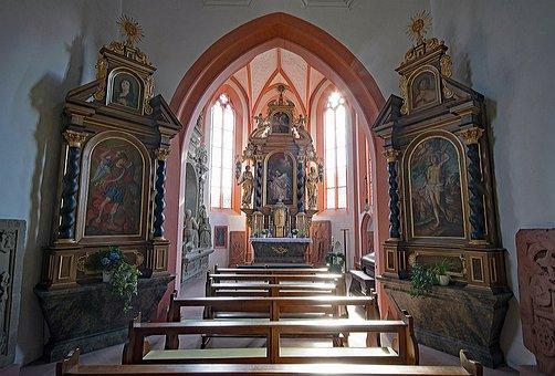 Pilgrimage Church, Hess Contained, Mespelbrunn, Bavaria