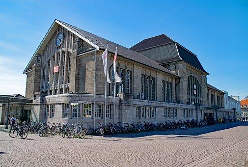 Darmstadt, Central Station, Hesse, Germany