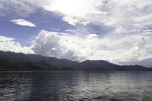 Lugu Lake, Lake, Sunny Days