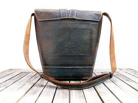 Back, Handbag, Leather, Leather Case, Leather Goods