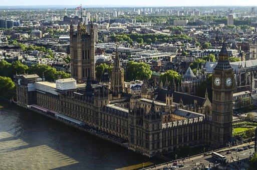 Big Ben, London, Clock, City Of England, Westminster