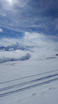 Snow, Ski, Winter, Mountain, Skier, Cold, Alps, Sky