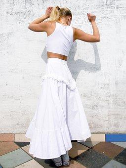 Dance, Rock, Movement, Music, Woman, Light, Dancer