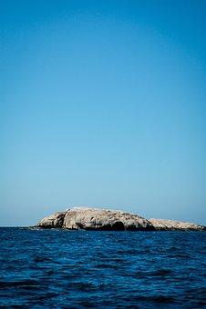 Rock, Sea, Ocean, Marine, Blue, Sky, Water, Water-side