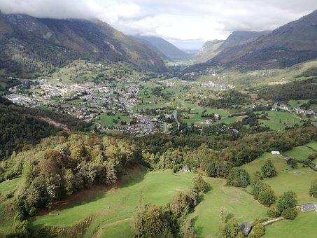Mountain, Landscape, Panoramic, Valley