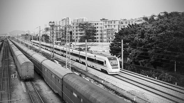 High Speed Rail, Harmony, Railway
