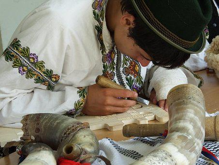 Wood, Carving, Romanian Traditions, Culture, Decoration
