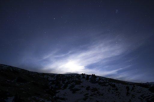 Sky, Star, Night, Blue, Starry Sky, Night Sky