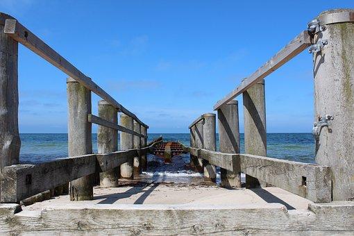 Baltic Sea, Web, Beach, Sea, Holiday, Water, Sky, Blue