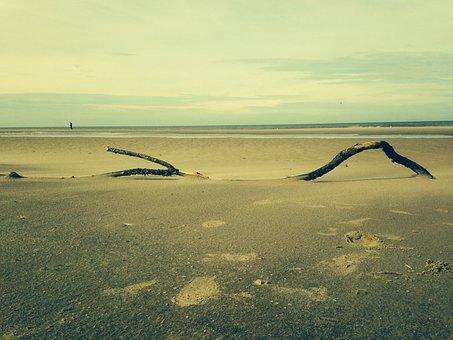 Beach, Sea, Coast, Sand, Beauty, Clouds, Air, Nature