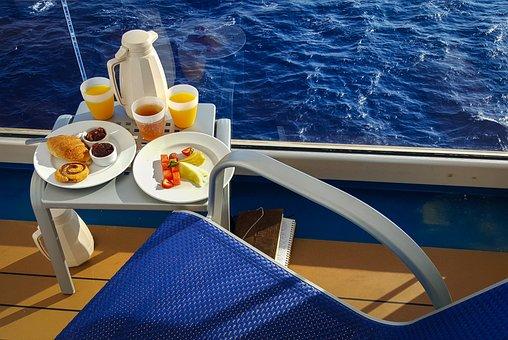 Cruise, Relax, Vacation, Summer, Ship, Breakfast, Sea