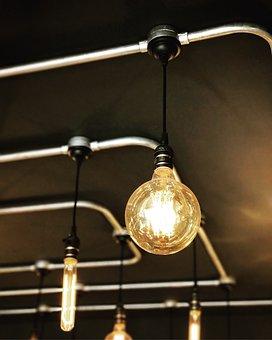 Lamp, Light, Design, Bulb, Electric, Bright, Energy