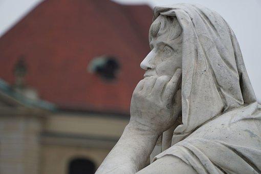 Berlin, Gendarmenmarkt, Monument To Schiller