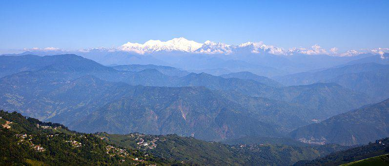 India, Kangchenjunga, Mountain, Landscape, Travel