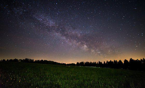 Milky Way, Night, Star, Sky, Night Sky, Starry Sky