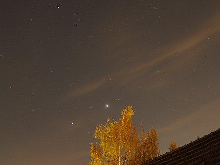 Night, Star, Sky, Starry Sky, Night Sky, Dark