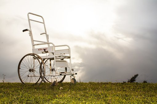 Disabled, Chair, Engel, Fiction, Grass, Opinions, Idea