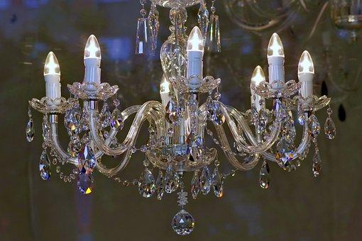 Chandelier, Glass, Replacement Lamp, Fancy, Lighting