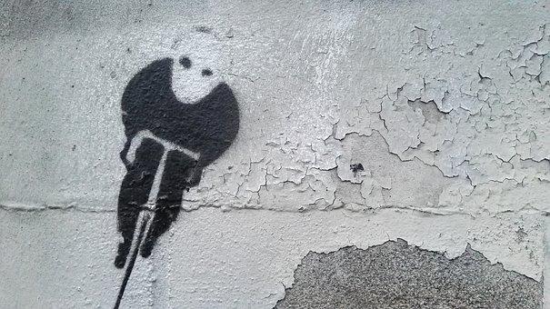 Graffiti, Street Art, Wheel, Urban, Wheels