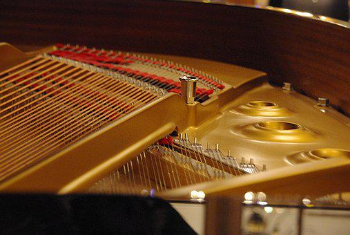 Piano Strings, Strings, Piano, Musical Instrument