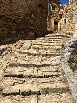 Roads, Stones, Sub, Stairway