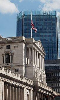 Bank Of England, London, Uk, Threadneedle Street