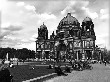 Cathedral, Sky, Park, Church, Architecture, Building