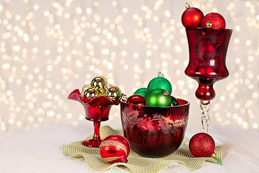 Christmas, Ornaments, Still Life, Christmas Ornaments