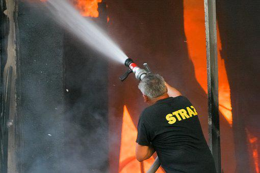 Fire, Fireman, Firefighter, Burn, Hero, Flame