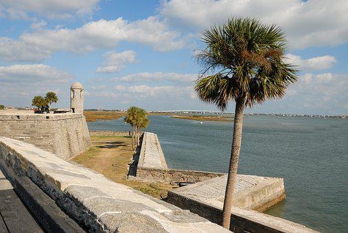 Castillo De San Marcos, Castle, Fortress, Fort