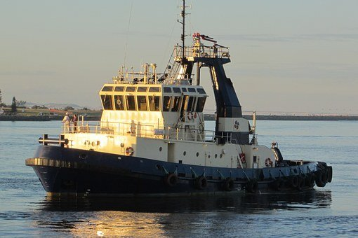 Harbour, Tug, Ship, Boat, Sea, Marine, Maritime