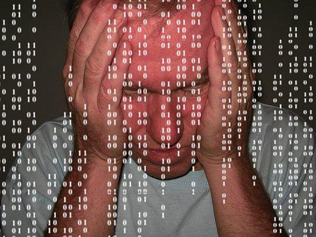 Man, Despair, Problem, Null, One, Binary, Binary Code