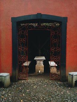 Passage, Table, History, Religion, Historic, Interior