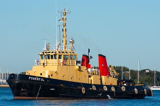 Tug, Boat, Ship, Harbor, Nautical, Marine