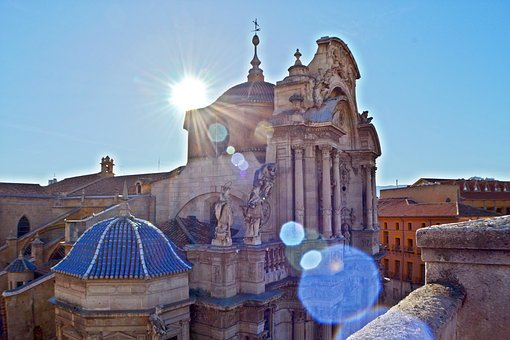 Cathedral, Church, Baroque, Spain, Architecture