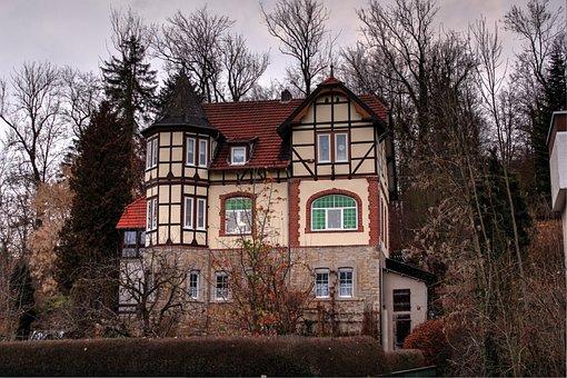 Truss, Old, Fachwerkhaus, Facade, Historic Preservation