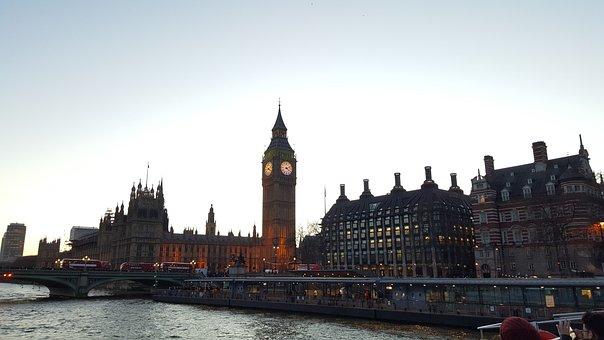 London, Big Ben, Parliament, London Clock