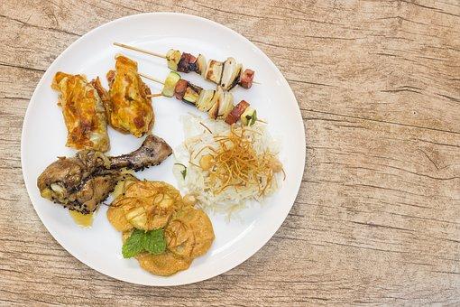 Gastronomy, Peruvian, Chicken, Plate