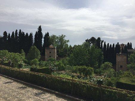 Alhambra, Tower Of The Princess, Granada